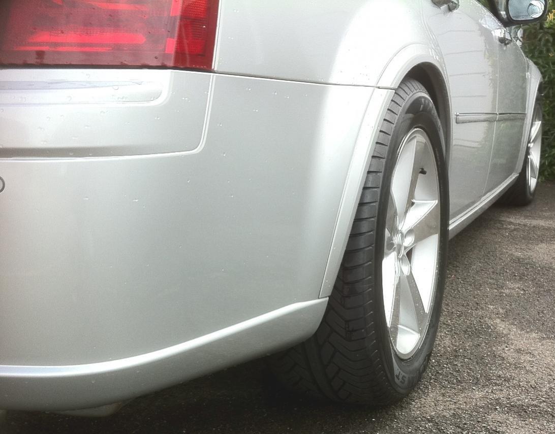 Wheel spacers - Chrysler 300C Forum: 300C & SRT8 Forums