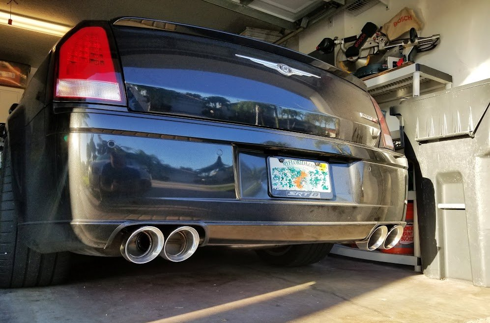 Question on exhaust tips | Chrysler 300C & SRT8 Forums