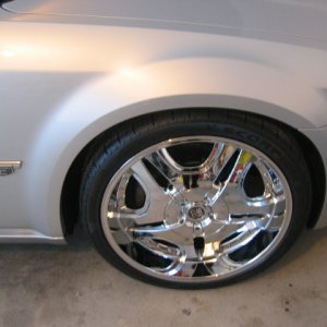"Picture of the 22"" TIS 03's"