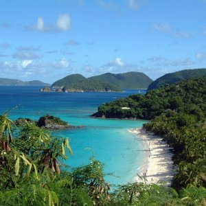 Trunk Bay , St. John, U.S.V.I.