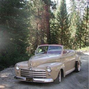 '47 in the Sequoias above Kernville