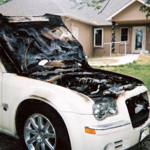 My $43,000 2007 300c That Caught On Fire