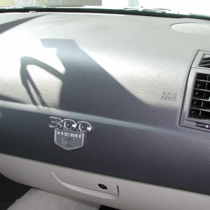 HemiC emblem on dash