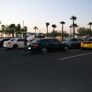 MoneyMike's  300SRT at SinCity LX Meet