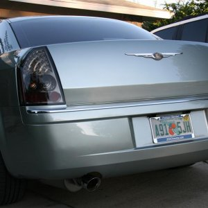 Gunmetal Smoked LED Taillights