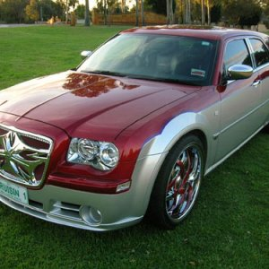 SRT8 300c Touring Make Over Perth Western Australia