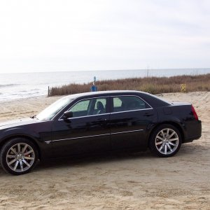 SRT8 at the beach