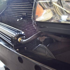 Power steering log cooler